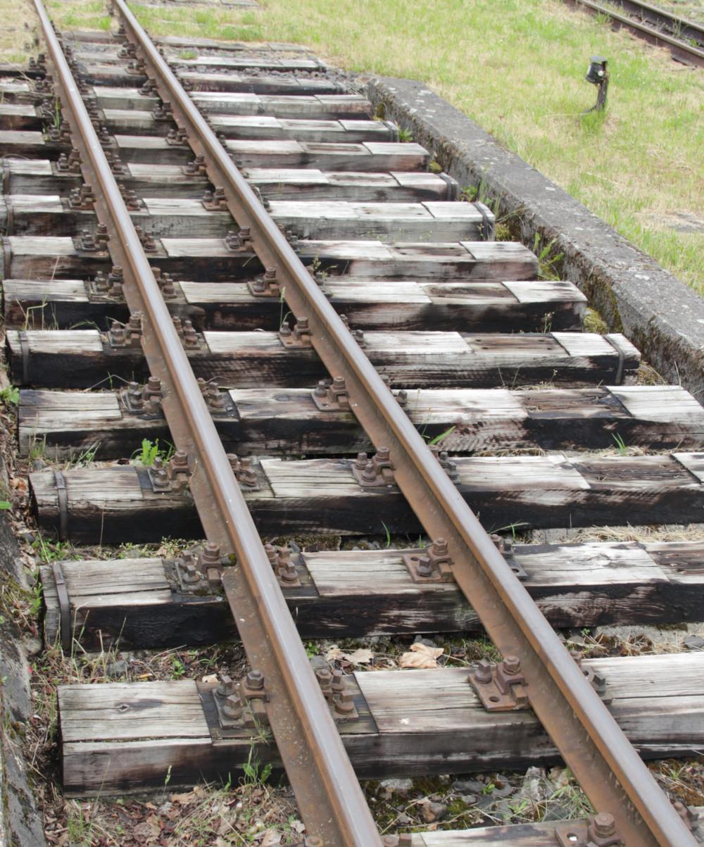 600mm Gleis, ganz schön schmal!