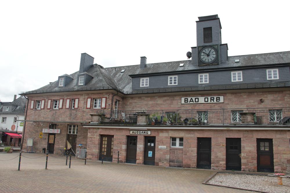 Bahnhofsgebäude Bad Orb